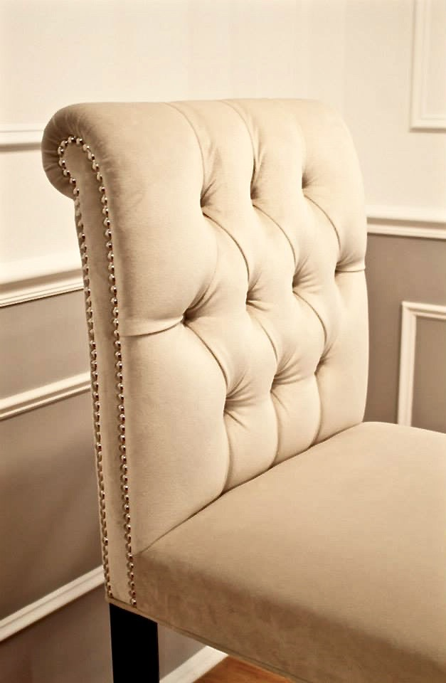 Bar Stool, Dining Chair, Arm Chair, Lounge Chair, Chesterfield, Tufted,
