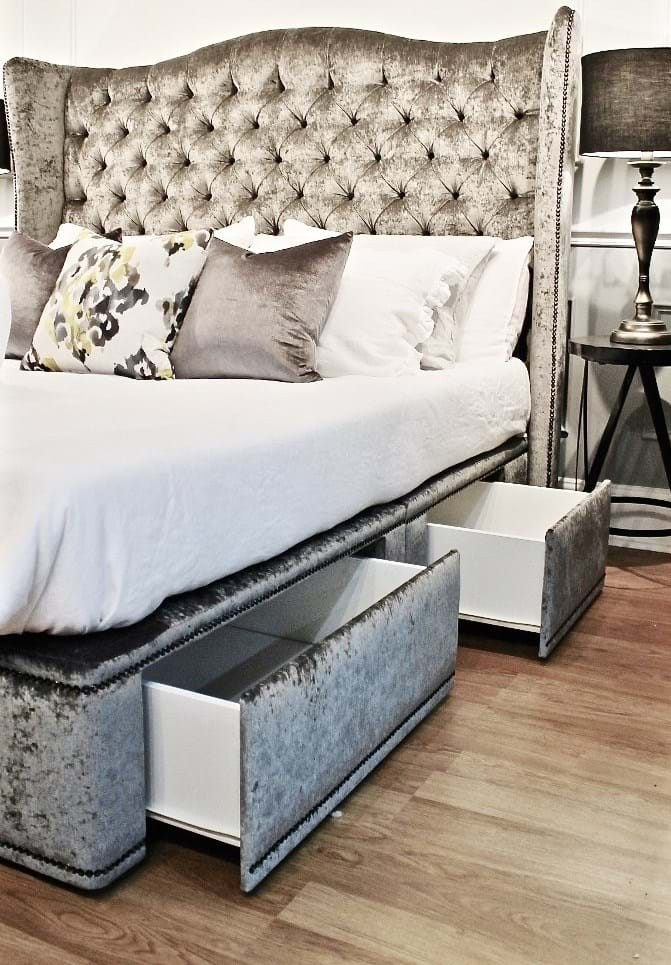 Headboards Upholstered Tufted