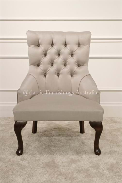 arm chair, lounge chair, chesterfield, tufted, diamond buttoning, custom made, upholstery, australia, melbourne, sydney, perth, adelaide, brisbane