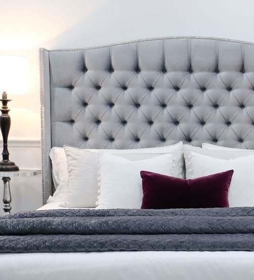 upholstered beds, upholstered bedheads,bedheads ...