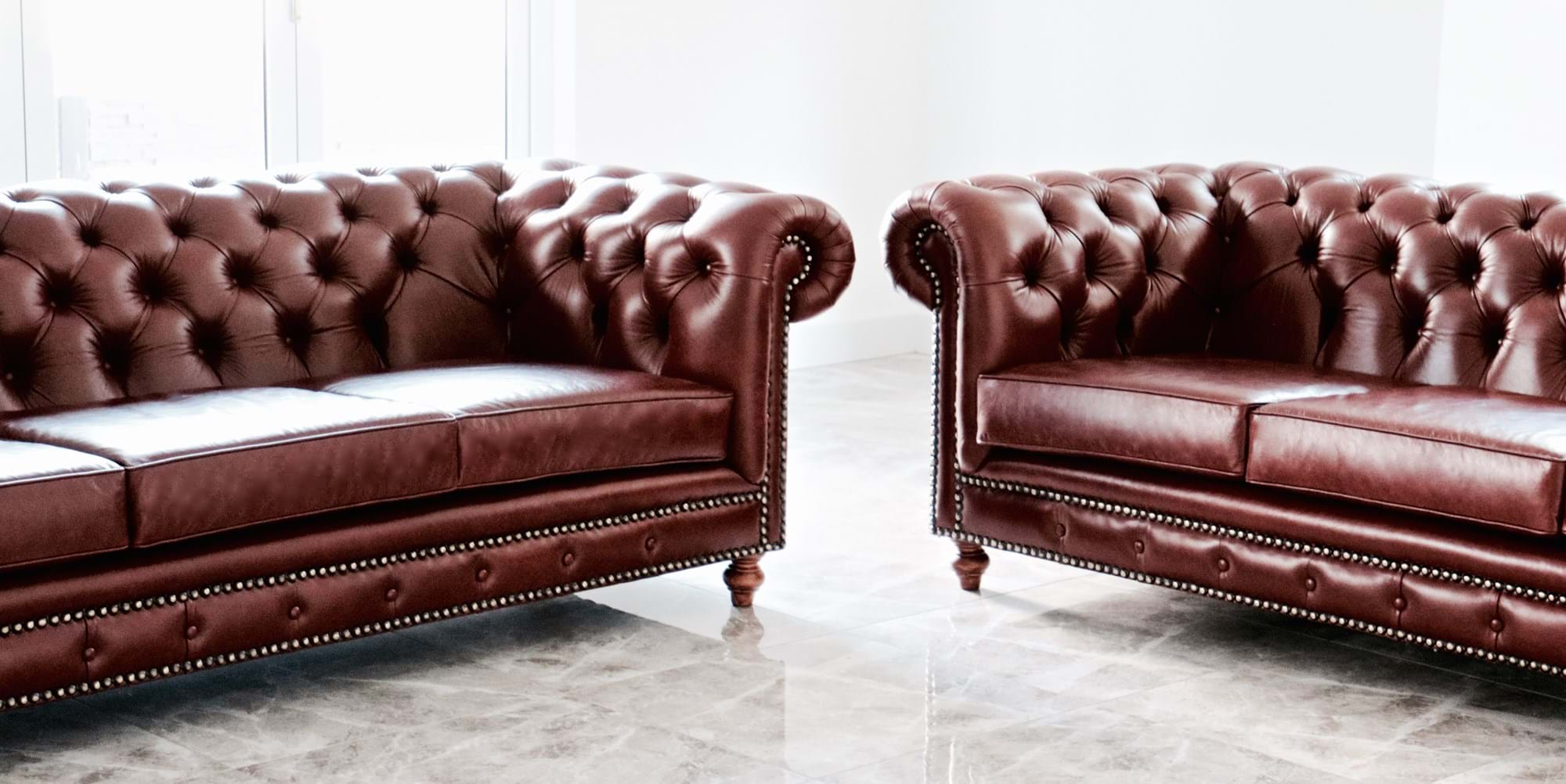 sofa couch contemporary chesterfield tufted diamond buttoning